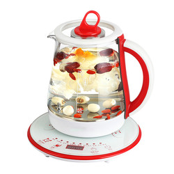 Electric kettle  health pot is fully automatic Add thick glass flower teapot electric kettle black tea kettle black tea to br
