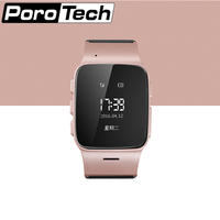 D99 Elderly Smart Watch Anti lost Gps+Lbs+Wifi Tracking With WIFI Mini Watch for Old Men Women support iOS Android Rose gold