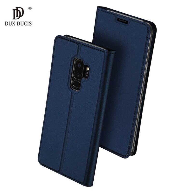 Di vibrazione della Custodia Per Armi Per Coque Samsung Galaxy S9 S8 Più Il Caso di Cuoio Della Pelle Coprilibro Per Samsung A6 Più J4 J6 J3 j7 2018 Nota 9 Caso