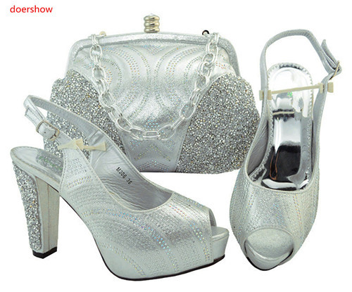 doershow Italian Ladies Shoes and Bags To Match Set Nigerian Shoes and Matching Bag African Wedding Shoes and Bag Set TGF1-43doershow Italian Ladies Shoes and Bags To Match Set Nigerian Shoes and Matching Bag African Wedding Shoes and Bag Set TGF1-43