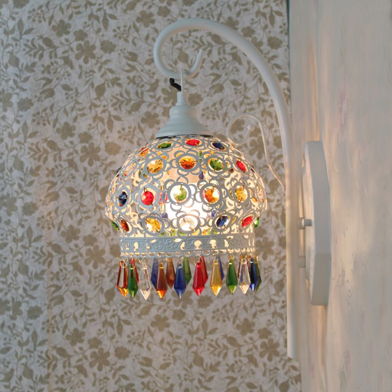 beauty house Bohemia Mediterranean color crystal bar balcony wall lamp крышка для мармита gipfel 5862