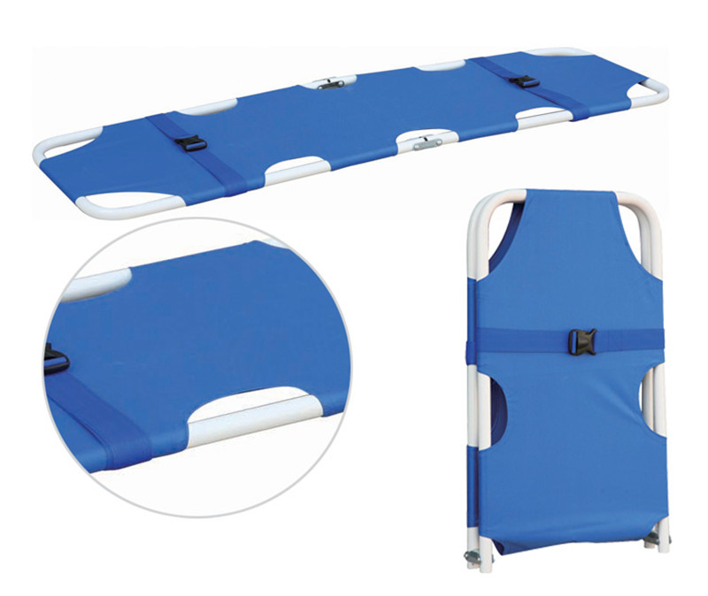 First Aid Kits Supply Stretcher folding stretcher medical stretcher emergency stretcher Steel pipe and aluminum pipe