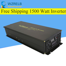 цена на Reliable Power Bank Inverter Pump/Car Converter 24V 230V 1500W Off Grid Pure Sine Wave Solar Inverter 12V/24V/48V