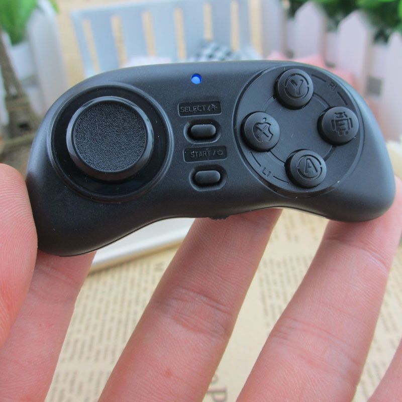 Թեժ նոր թարմացում անլար Gamepad Bluetooth Game Controller Gaming Joystick for Android / iOS Smart Phone Mouse- ի վերահսկիչ VR- ի համար