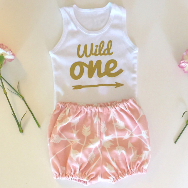 Baby Girls Summer First Birthday Outfits