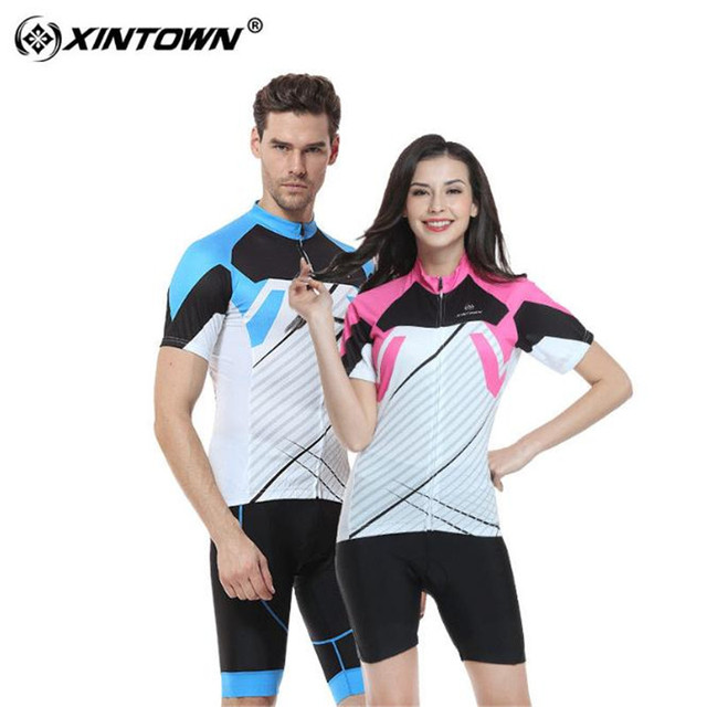 2018 Couple Cycling Jersey Set Short Sleeve Bike Clothing Men Women Maillot  Ropa Ciclismo MTB Racing Bicycle Clothes Wear 459f6dd70