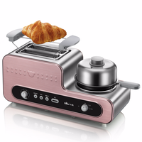 Bear 3 in 1 Breakfast Maker Toaster Home Breakfast Toaster Tug Driver Fully Automatic Toast
