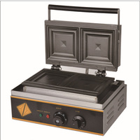 110V/220v electrical commercial sandwich maker_ sandwich machine