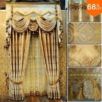 Домашнего применения shalian качество пряжи, жаккард Шторы Мода Стиль люкс великолепен складки моды Шторы домашний текстиль