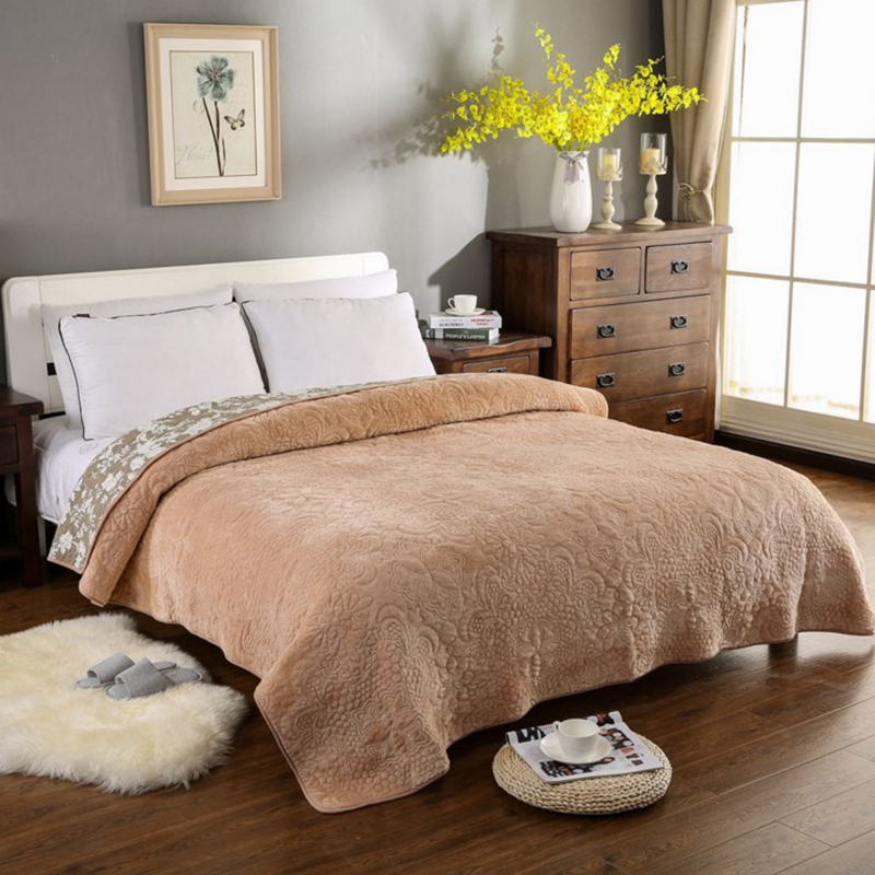 Annuona Cotton Bed Linens Heb Set Soft Quilt Queen Size Bedspread Blanket Bed Sheets Falla velvet cover Blanket