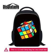 Dispalang Cute Rubik's Cube Children School Bags For Girls B