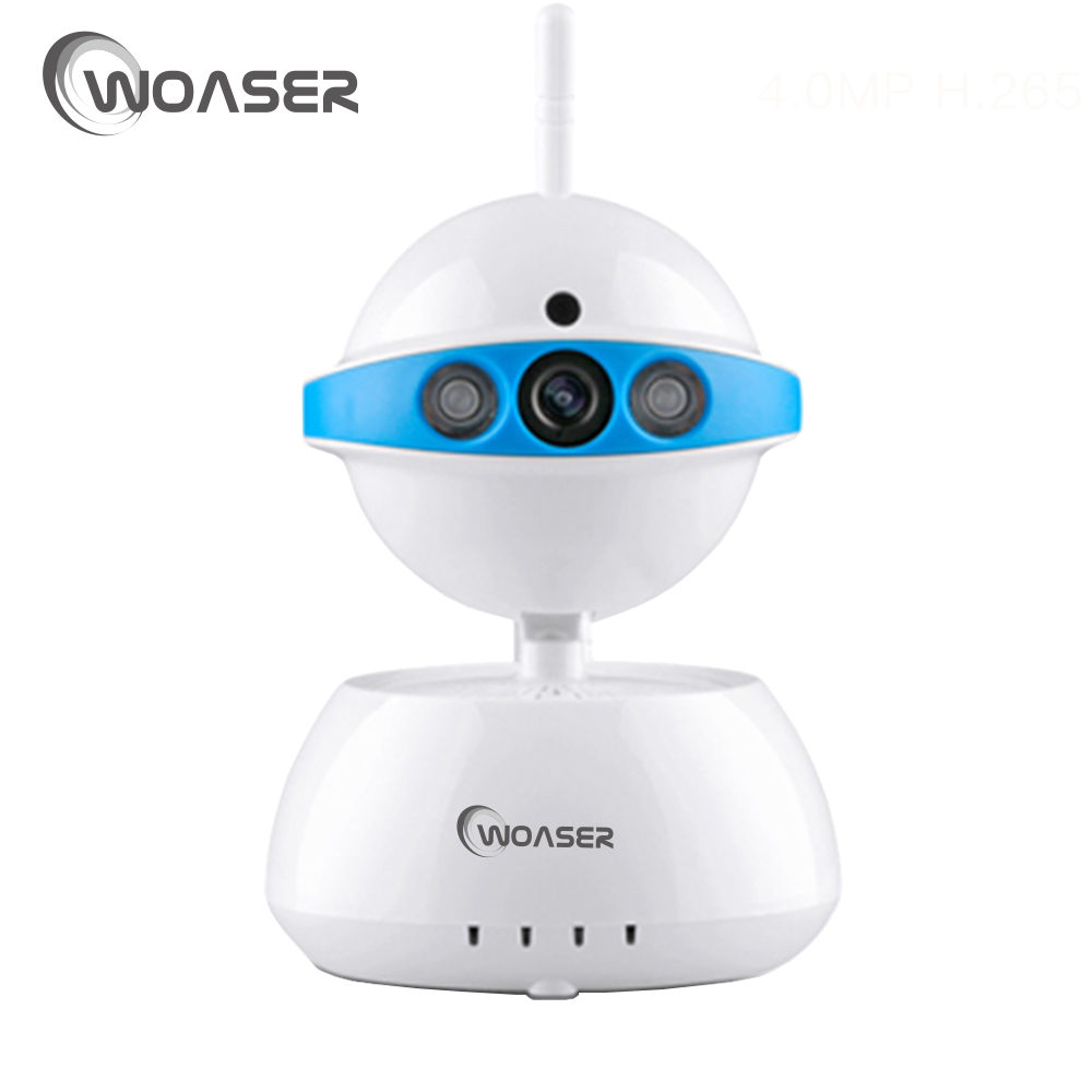 WOASER Indoor 720P Wireless Security IP Camera Home Surveillance WIFI Monitor  IR-CUT Night Vision Mobile Phone Remote Access
