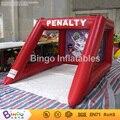 Бесплатная Доставка Открытый хохма спорт надувные футбольных ворот для детей игрушки