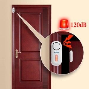 Image 3 - KERUI Ev Güvenlik Kablosuz Kapı Pencere Alarm Sistemi Ana Bağımsız Kapı manyetik kapı sensörü dedektörü Akıllı Ev