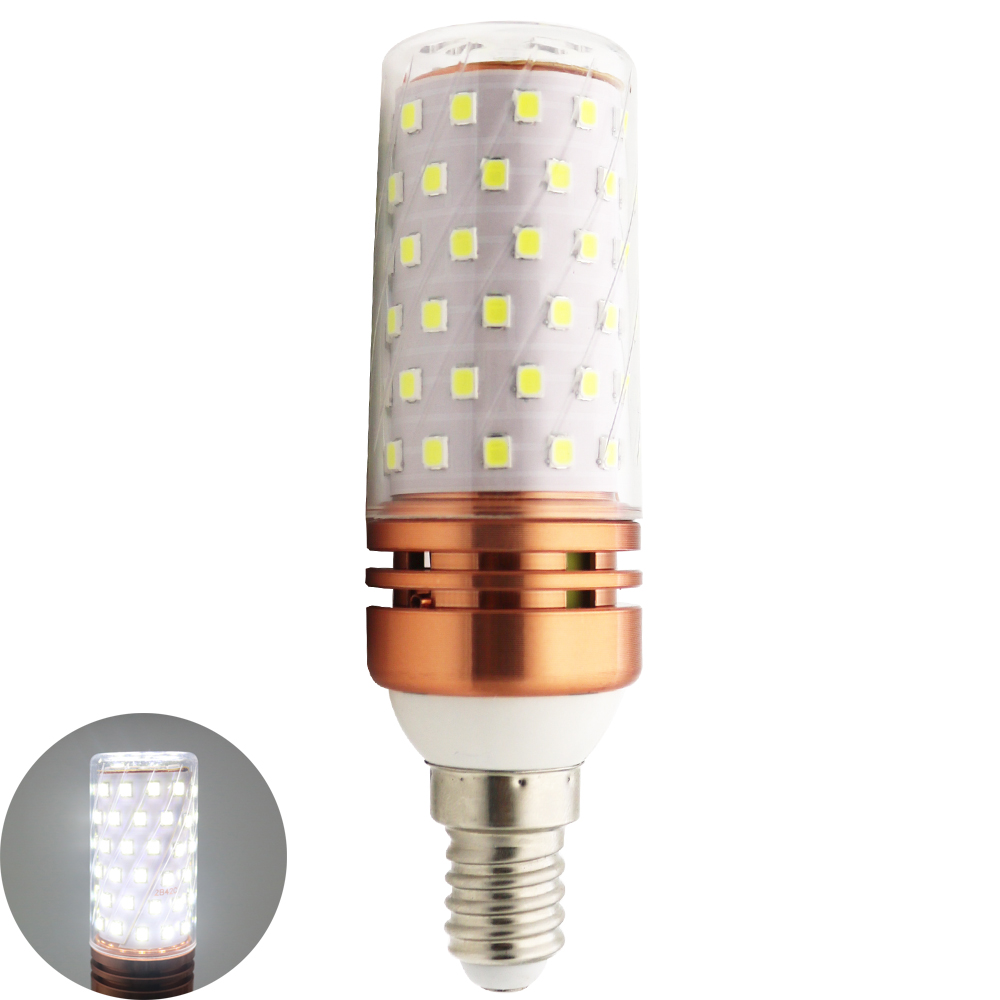 Led light e14 smd2835 led bulb corn lamp 220v led lampada for Lampada led e14
