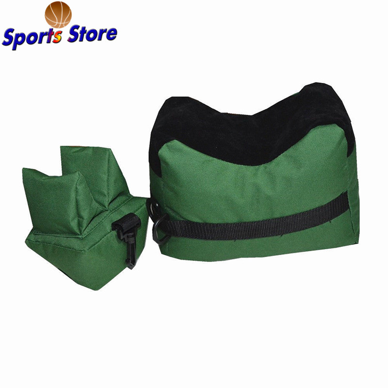 Portable Soft Shooting Rear  Rest Bag Set Outdoor Front & Rear Rifle Target Hunting Bench Unfilled Stand Hunting  Accessories
