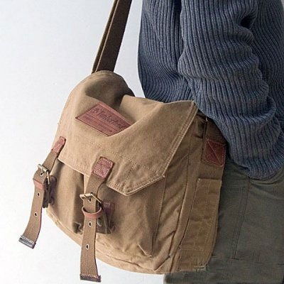 Free Shipping Vintage Canvas Slr Shoulder Message Cover Sling Bag For Sony Canon Nikon D90
