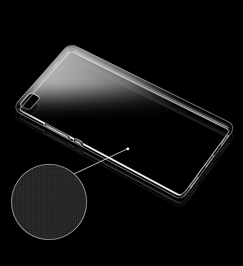 10pcs lot Transparent Clear TPU case For Huawei P8 Silicone soft case in Fitted Cases from Cellphones Telecommunications