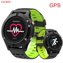 no.1 F5 Smartwatch Heart Rate Sleep Monitoring Smart Watch Altimeter Barometer Thermometer GPS Outdoors Sport Watch