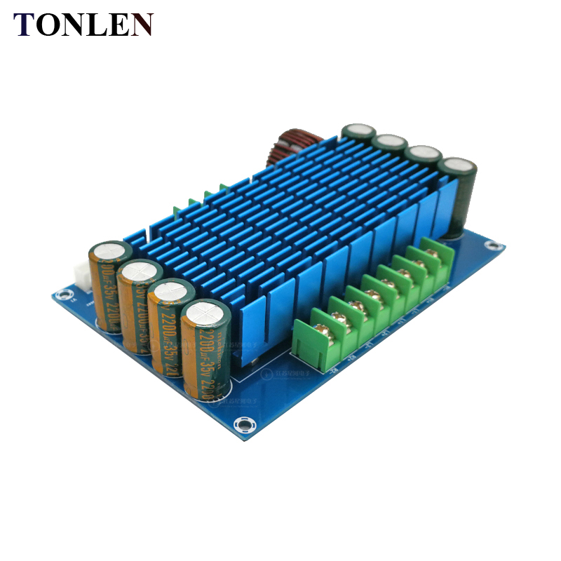 TDA7850 Car 4.0 Channel Power Amplifier Board 50W*4 DC12V High Power Audio Amplifier Module DIY Car HIFI Amp Stereo System douk audio lm3886 dual parallel pure power amplifier hifi amp board 120w 120w