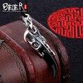 Высокая польский кулон Бесплатно дать веревку Beier стерлингового серебра 925 Винтаж ожерелье ювелирные изделия A1631