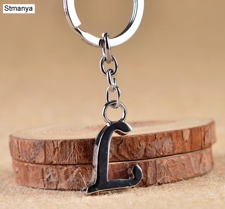 New Key Ring Design Creative A -Z  Letter Keychain Car Key Chain Fashion Keychain For Men Women Marry And Birthday Gift
