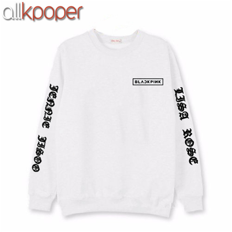 ALLKPOPER Kpop Blackpink Sweatershirt JISOO JENNIE LISA Fans ...