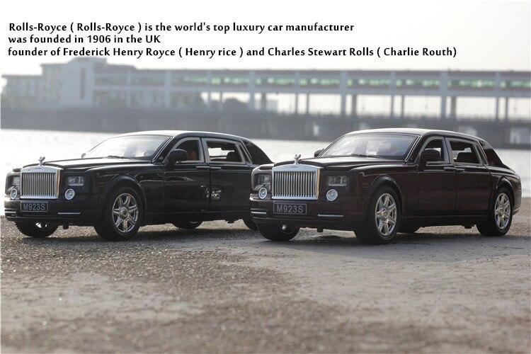 Rolls Royce Phantom Model Car with Sound and Lights 7