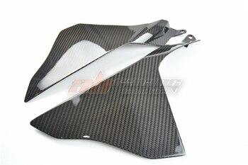 Side Panels Upper  For Yamaha R1 2015 2016 2017 2018  Full Carbon Fiber, 100% Twill