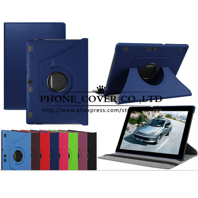 360 Rotate Case Cover For Lenovo Tab 2 A10-70 A10-70L A10-70F / TAB 3 Business X70 X70F 10.1 Tablet Funda + Screen Protectors