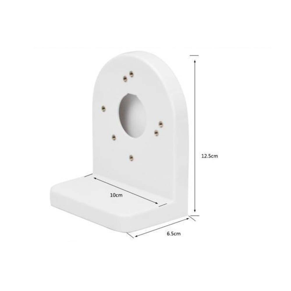 ABS Universal Plastic Wall Mount Bracket For CCTV Security 2.5