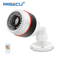 MISECU H.264+ Wide Angle 180 VR Lens Standard M12 Fisheye IP 720P 48V POE Camera Onvif P2P Email alert Night Vision Outdoor Cam