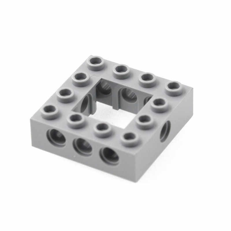 5Pcs/lot Technic Series MOC Brick Parts Beam Frame Square Brick Building Blocks Construction Toy Compatible with legos 32324
