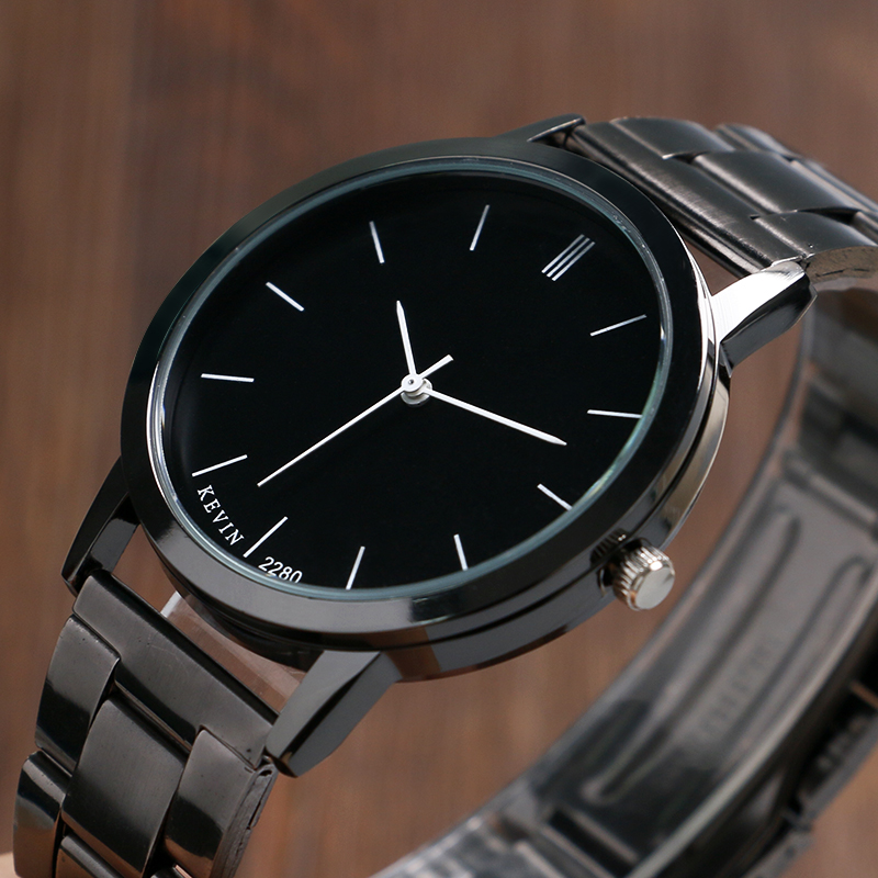 New Arrival KEVIN Fashion Simple Style 3 Colors Wrist Mens Casual Dress Watches Quartz Wristwatch relogio