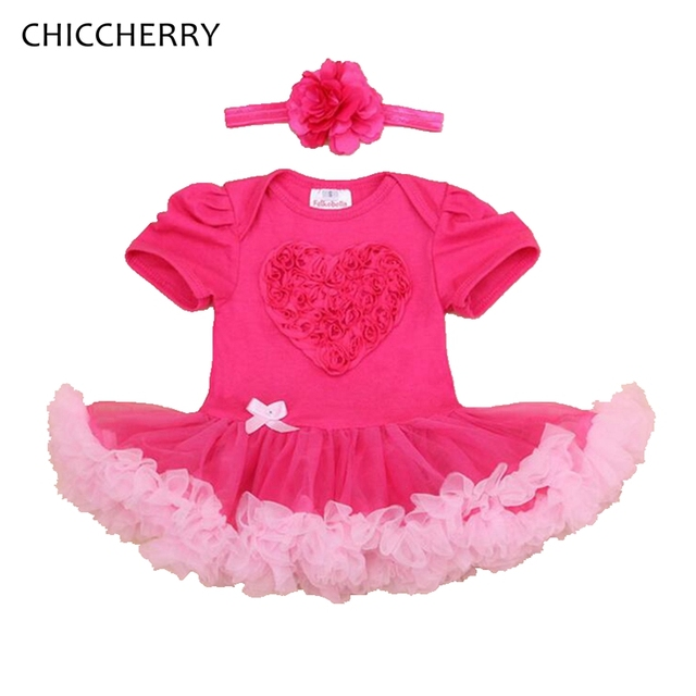 pink heart valentine baby clothes infant lace petti romper newborn girls dress near year costume roupa - Valentines Baby Outfit