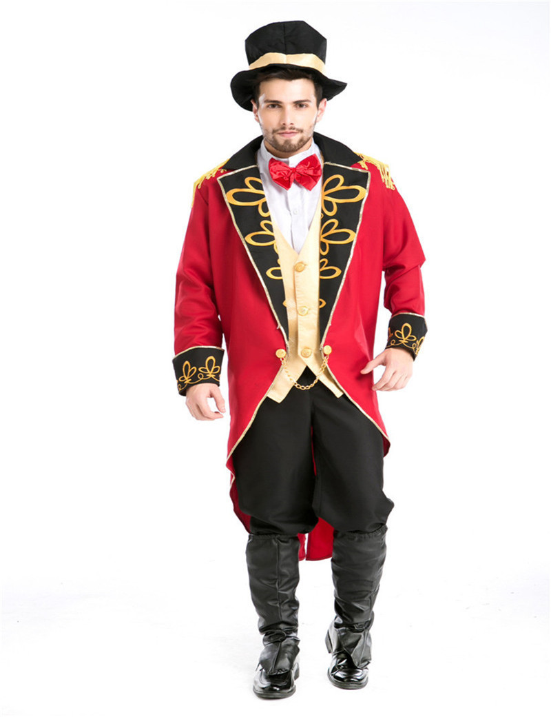 Cosplay Command Tuxedo Magician Vampire Male Men's clothes Earl Europe Movies costumes Halloween ...