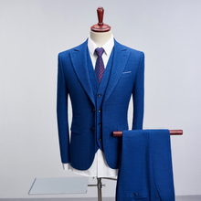 MarKyi new arrival mens suits designers 2018 good quality double button wedding groom plus size 4xl