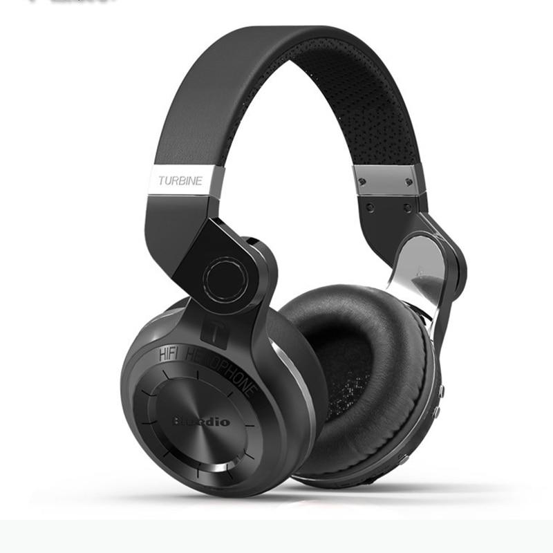 Casque stéréo Bluetooth Bluedio T2 Original casque sans fil Bluetooth 4.1 avec Microphone pour téléphone portable MP3 MP4