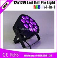 14pcs LOT 12pcs 12w Lamp Beads 12x12W Led Par Lights Professional Stage Dj Equipment