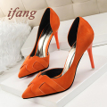 ifang Women Wedding Shoes 2016 Bridal High Heels Sweet Party High Heel Shoes Woman Women Heels Pumps Casual Women's Shoes