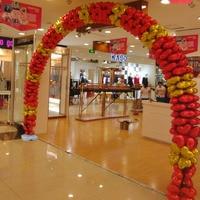 AJP aluminum film balloon arches wedding birthday celebration arrangement column opening holiday party foil balloon decoration