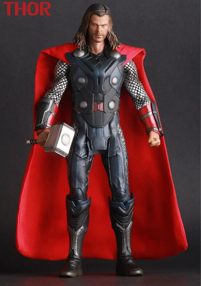 Free Shipping 12 The Avengers THOR The Age of Ultron CT Ver. Boxed 30cm PVC Action Figure Collection Model Doll Toy Gift superheroes the 2 age of ultron hulk ultron pvc action figure toy collectible model doll great gift 25cm 23cm