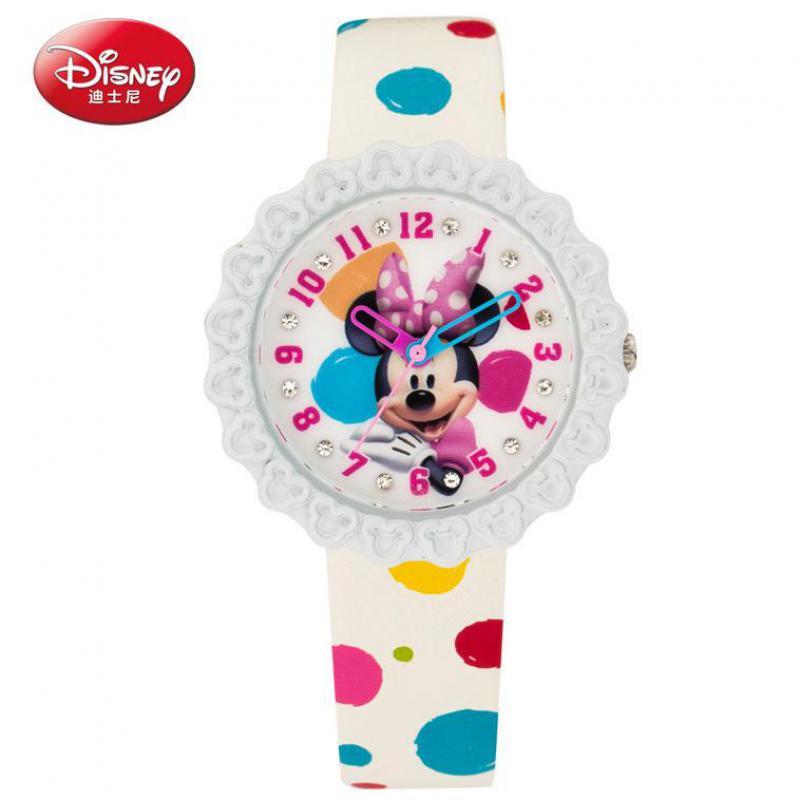 Watches Disney Cartoon Children Watches Girls Quartz Watch Top Brand Frozen Pu Leather Watchband Fashion Girls Frozen Watch Dropshipping In Short Supply