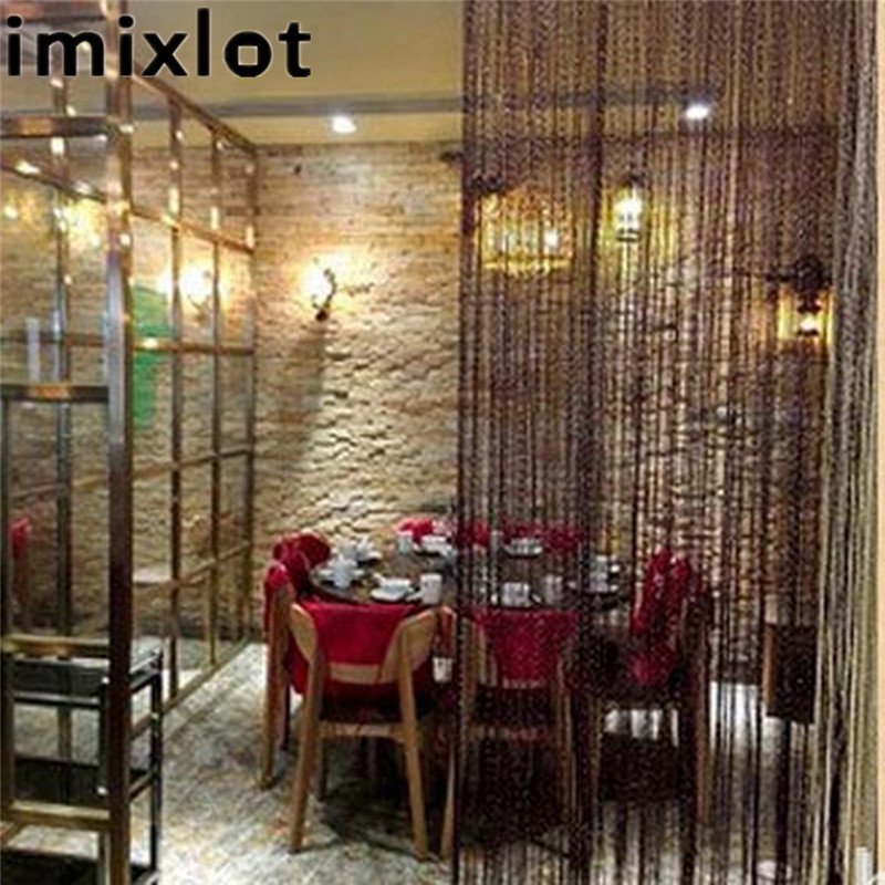 Imixlot 1M Polyester Thread Partition Curtains Screens Romantic Living Room  Decoration Tulle Door Drape Accessories In Blinds, Shades U0026 Shutters From  Home ...