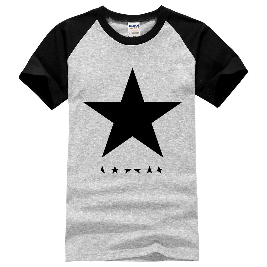 David Bowie heroes harajuku posters Mens Print T Shirt Custom T Shirt men 2017 summer fashion new brand clothing short sleeve