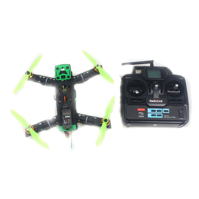 Mini CC3D 260 RC Quadcopter Drone Kit 4-Axis Geïntegreerde Frame Helicopter Vliegtuigen Geen Batterij F16050-B