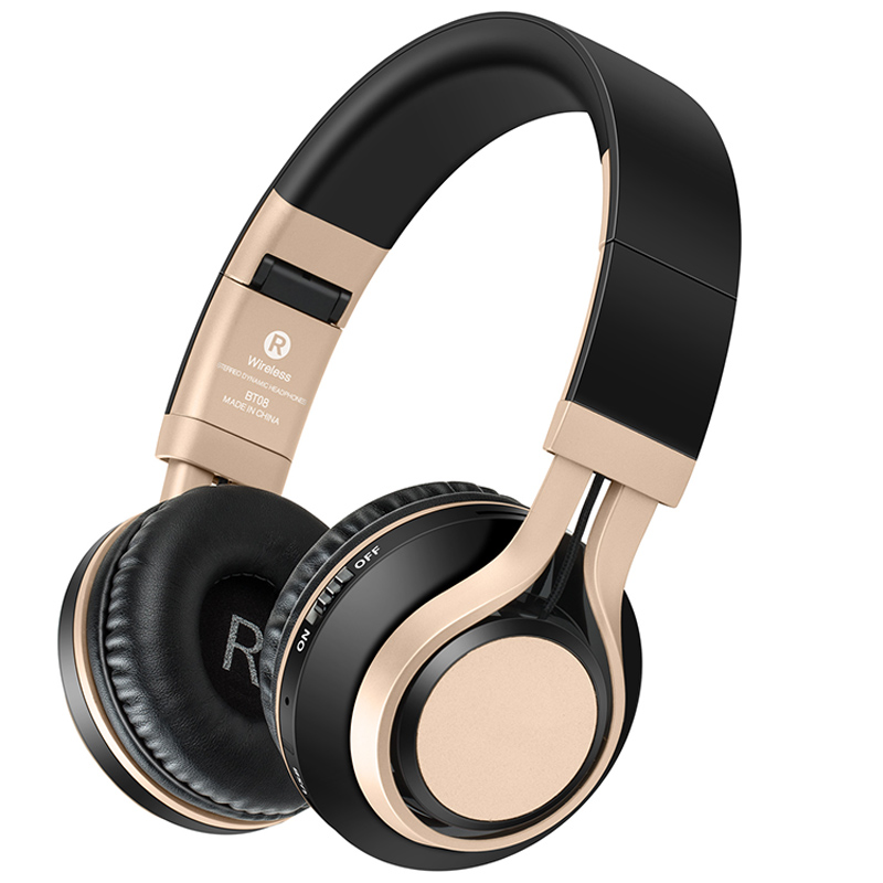 Sound Intone BT 08 Bluetooth Headphones Wireless With Mic Support TF Card FM Radio Stereo Bass