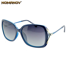 Nomanov = Oversized Fashion Butterfly Ladies Polarized Sunglasses Uv400 Uv100 Delicate Hinge Shopping Party Vacation Sun Glasses
