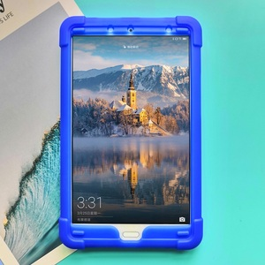 Image 3 - MingShore Rugged Silicone Soft Case For Huawei MediaPad M5 8.4inch SHT AL09 SHT W09 Tablet Shockproof Cover Case
