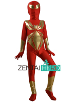 Free Shipping DHL NEW Children S Halloween Costume Child Iron Spider Armor Cosplay Kids Superhero Spiderman